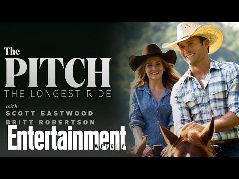 Scott Eastwood & Britt Robertson pitch 'The Longest Ride' to Clint Eastwood