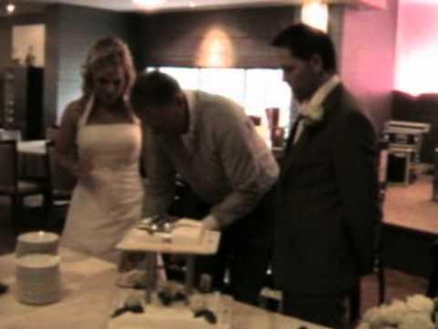 bruiloft kozan en dinja deel 2 bruidstaart...