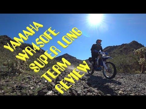 Yamaha WR450F Long Term Review