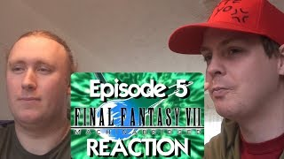 Final Fantasy VII: Machinabridged (#FF7MA) - Ep. 5 REACTION
