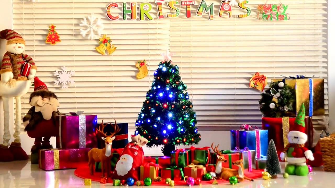 Aosom UK: HOMCOM 3ft Green Artificial Christmas Tree