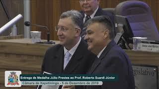 Sessão Solene - Roberto José Suardi Júnior - 2019