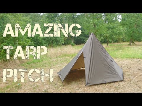 Try this! Ultimate XL tarp pitch: Tipi