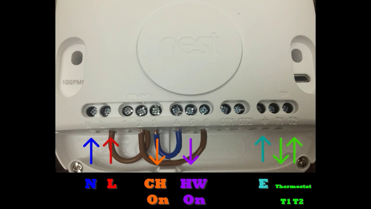 Nest Thermostat 3rd Generation Old Boiler Wiring