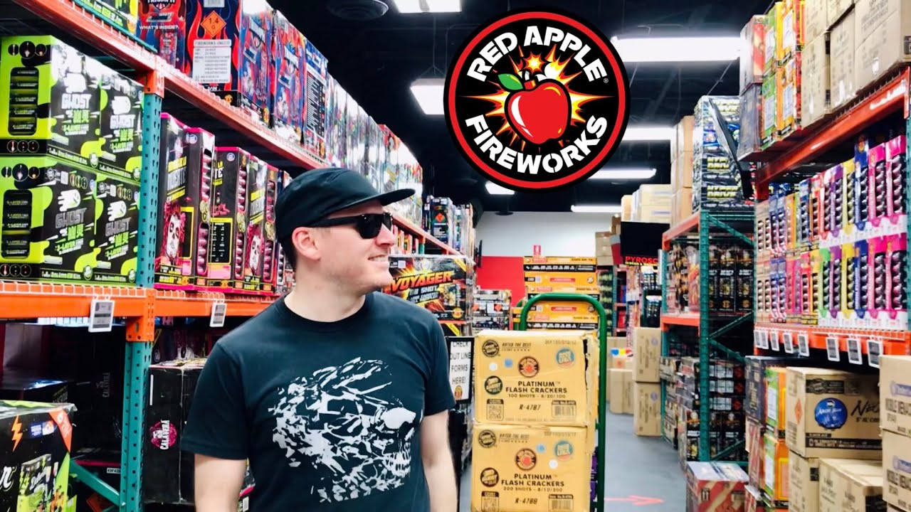 Red Apple Fireworks Store Tour 2020 (NOW OPEN)