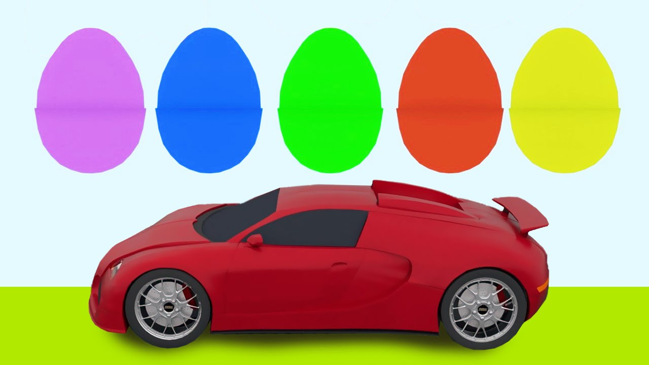 3d Animated Video For Kids | Learn Car Parts and Colors | MyToyTV ...
