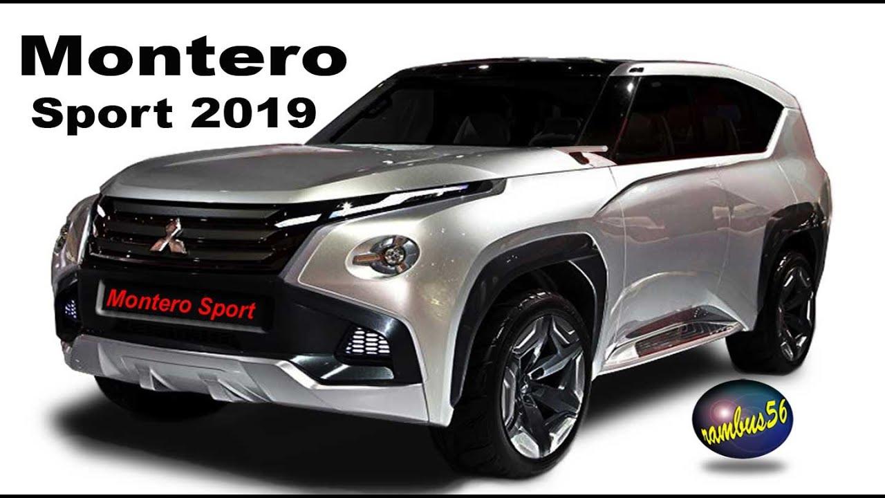 Mitsubishi Montero Sport 2019 Exterior Color Concept Youtube