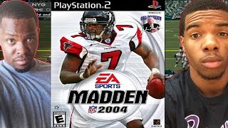 MICHAEL VICK CHEESE - Madden NFL 2004 (PS2) | #ThrowbackThursday ft. Juice