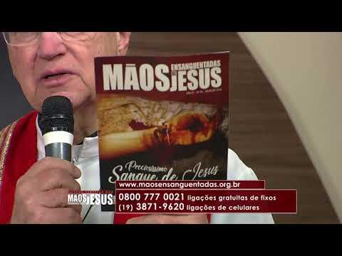 Novena Mãos Ensanguentadas de Jesus - 12/07/18 - 3º dia - O Perdão