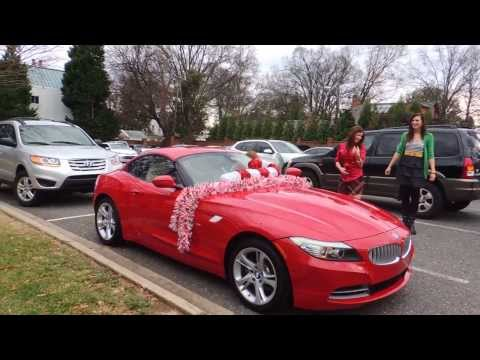 Heart Warming Reaction to Christmas Gift BMW Z4!