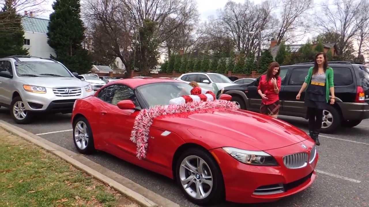 Car Christmas Bow