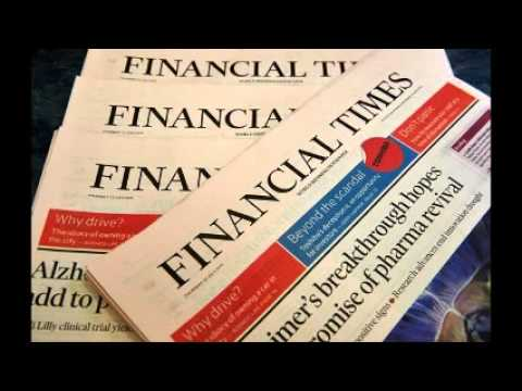 Financial Times owner to sell to Nikkei for $1.3 billion