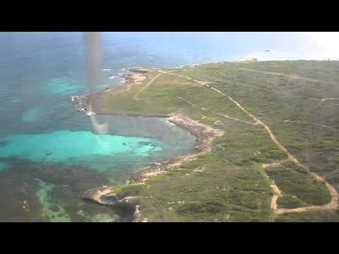 Landing in Beautiful Anguilla