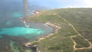 Landing in Beautiful Anguilla