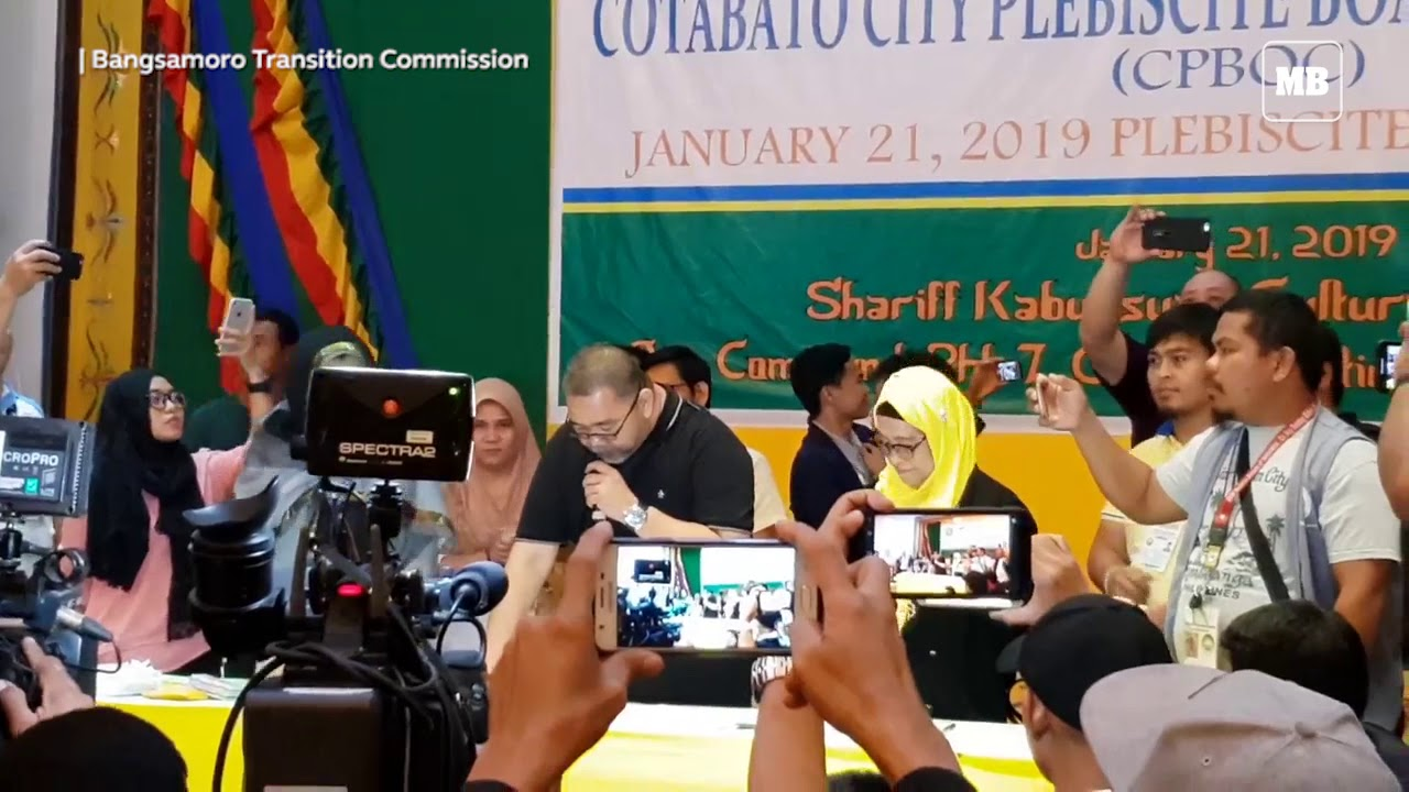 The Yes vote for inclusion of Cotabato City under the BARMM wins