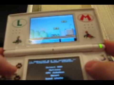SNES roms Running on a Nintendo DS