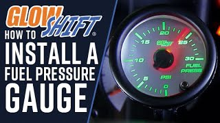 How To Install A Fuel Pressure Gauge(GlowShift's 7 Color Series 30 PSI Fuel Pressure Gauge is perfect for any diesel truck that is running lower fuel pressure levels. This diesel fuel pressure gauge ..., 2013-12-09T17:42:42.000Z)