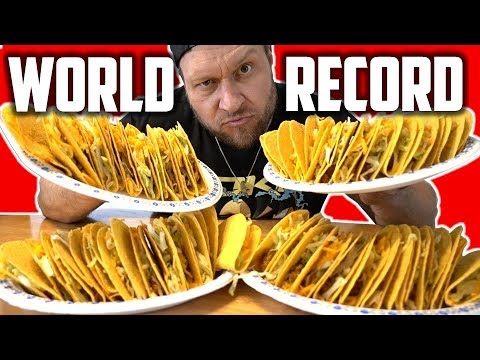 Most Hard Shell Tacos Eaten in 2 Minutes (NEW World Record) | Becoming Furious Pete (Ep 2)