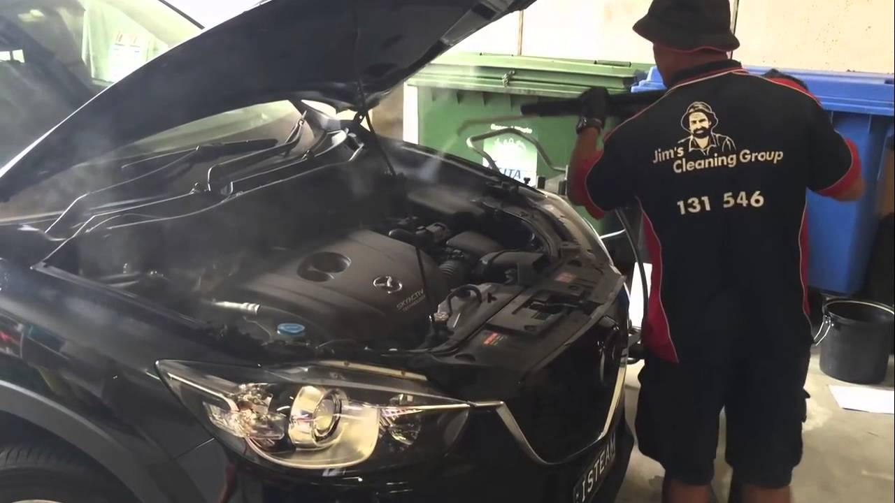 Steam Cleaning A Car Interior And Exterior Detail With Steam Youtube