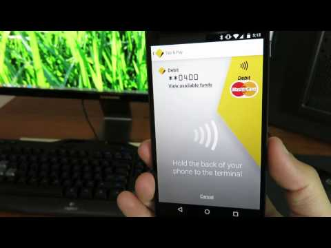 How To Tap And Pay / PayPass™ Using Android In Australia (Demoed On Nexus 5)