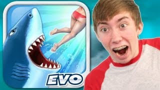 HUNGRY SHARK EVOLUTION (iPhone Gameplay Video)