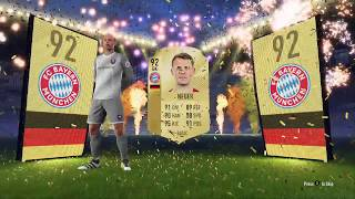 Manuel Neuer Walk Out In Fifa 18 Electrum Players Pack