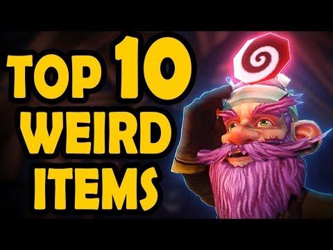 Top 10 Weirdest Vanilla WoW Equipped Items