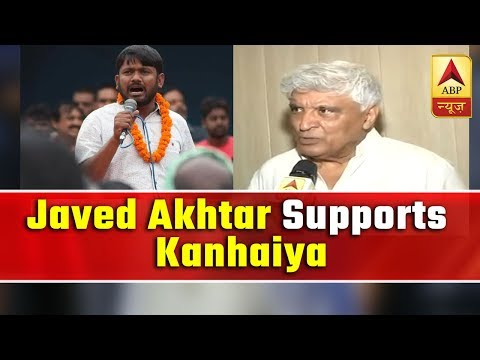 Javed Akhtar campaigns for Kanhaiya Kumar in Bihar's Begusarai