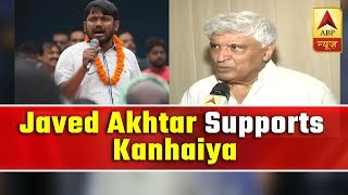 Javed Akhtar campaigns for Kanhaiya Kumar in Bihar\'s Begusarai