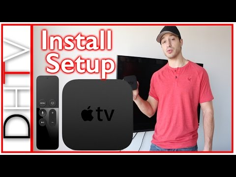 How To Install & Setup New Apple TV 4th Generation