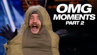 OMG! WEIRD! What Kind Of Talent Did You Just Watch? - America's Got Talent 2018