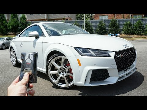 2018 Audi TT-RS: Start Up, Exhaust, Test Drive and Review