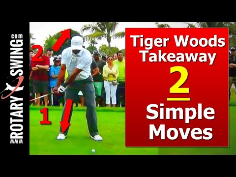 Tiger Woods Golf Swing: Learn His Takeaway w/ 2 Simple Moves