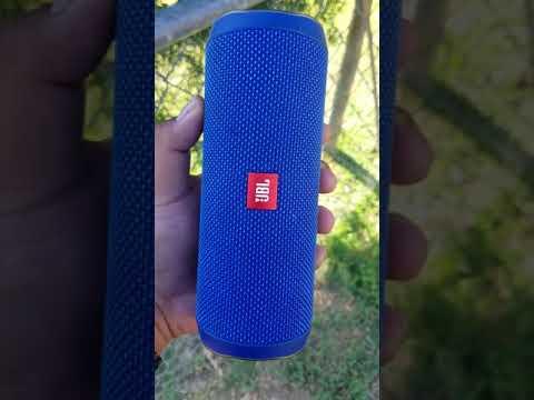 JBL Flip 4 update on Wash