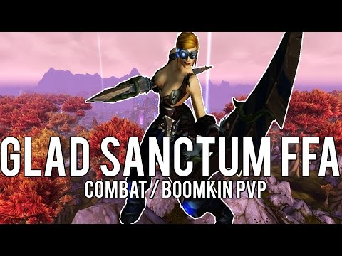 GLADIATOR'S SANCTUM ARENA FFA (Combat/Boomy) - (Combat Rogue PvP) Warlords of Draenor 6.2