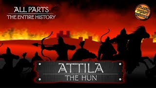 Attila the Hun - The Entire History (Audio Podcast)