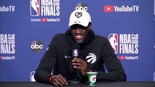 Pascal Siakam Full Interview - Game 2 Preview | 2019 NBA Finals Media Availability