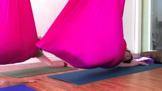 Restorative Flying Yoga