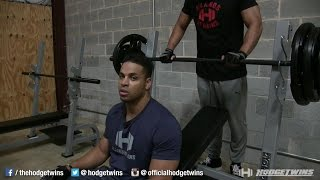 Superset Chest & Back Workout @hodgetwins