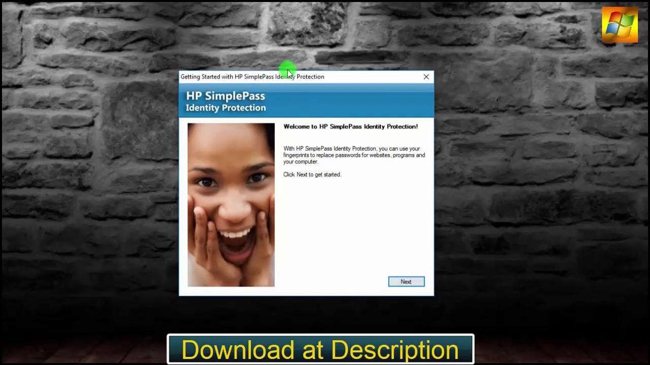 HP DigitalPersona Fingerprint Reader Software 5 1 0 175