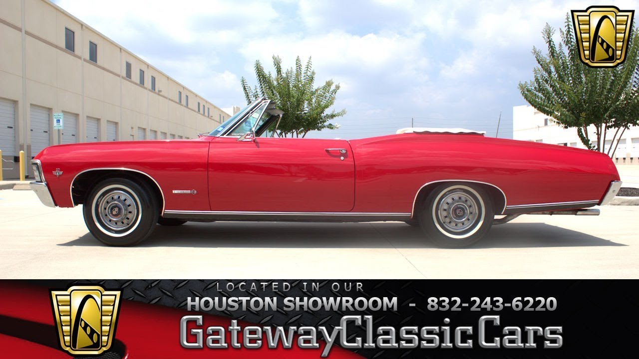 1967 Chevrolet Impala Ss Gateway Classic Cars 1243 Houston Showroom
