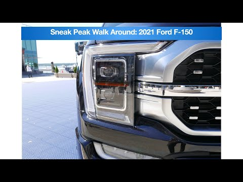 Early Sneak Peak! 2021 Ford F-150 Walk Around!