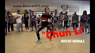 """Tati & Matt - NICKI MINAJ   """"Chun Li"""" Dance ¦ Matt Steffanina Choreography"""