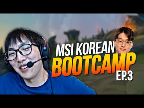 Doublelift - MSI KOREAN BOOTCAMP (EP.3)