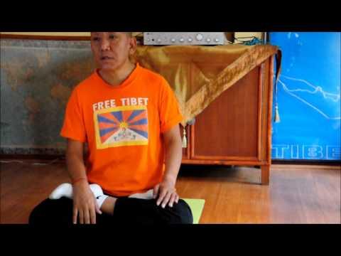 PRANAYAN breathing techniques Tibetan Yoga Teacher  Ven.Lobsang Dhonden