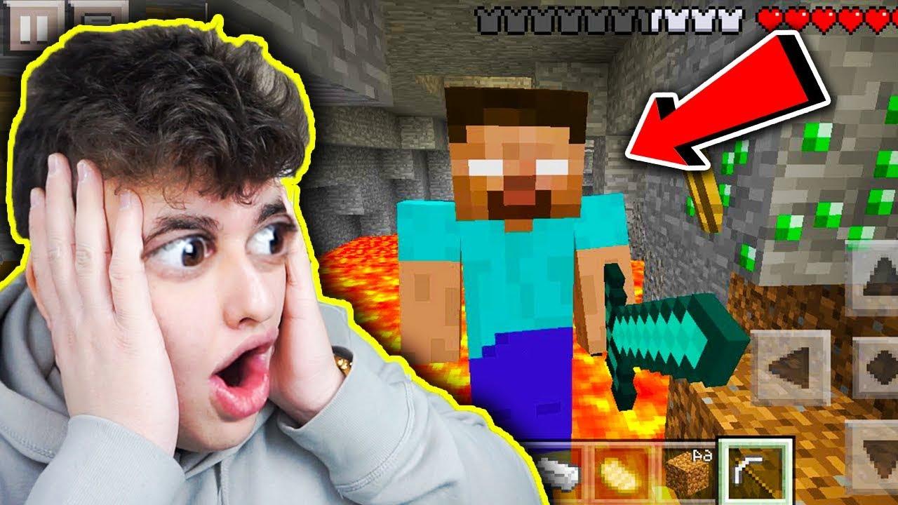 Minecraft na Telefon – NIE WIERZE ZE GO SPOTKAŁEM!!! #4
