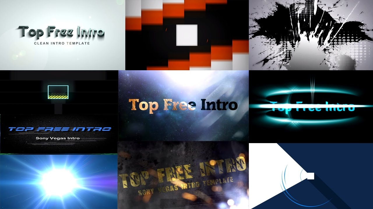 Top 10 intro templates free sony vegas pro 13 download for Sony vegas pro 9 templates free download