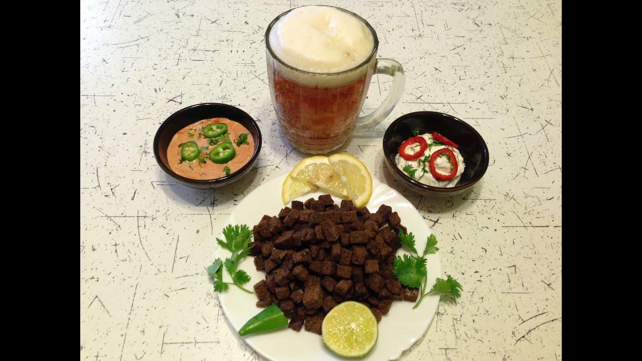 Как сделать гренки к пиву в домашних условиях
