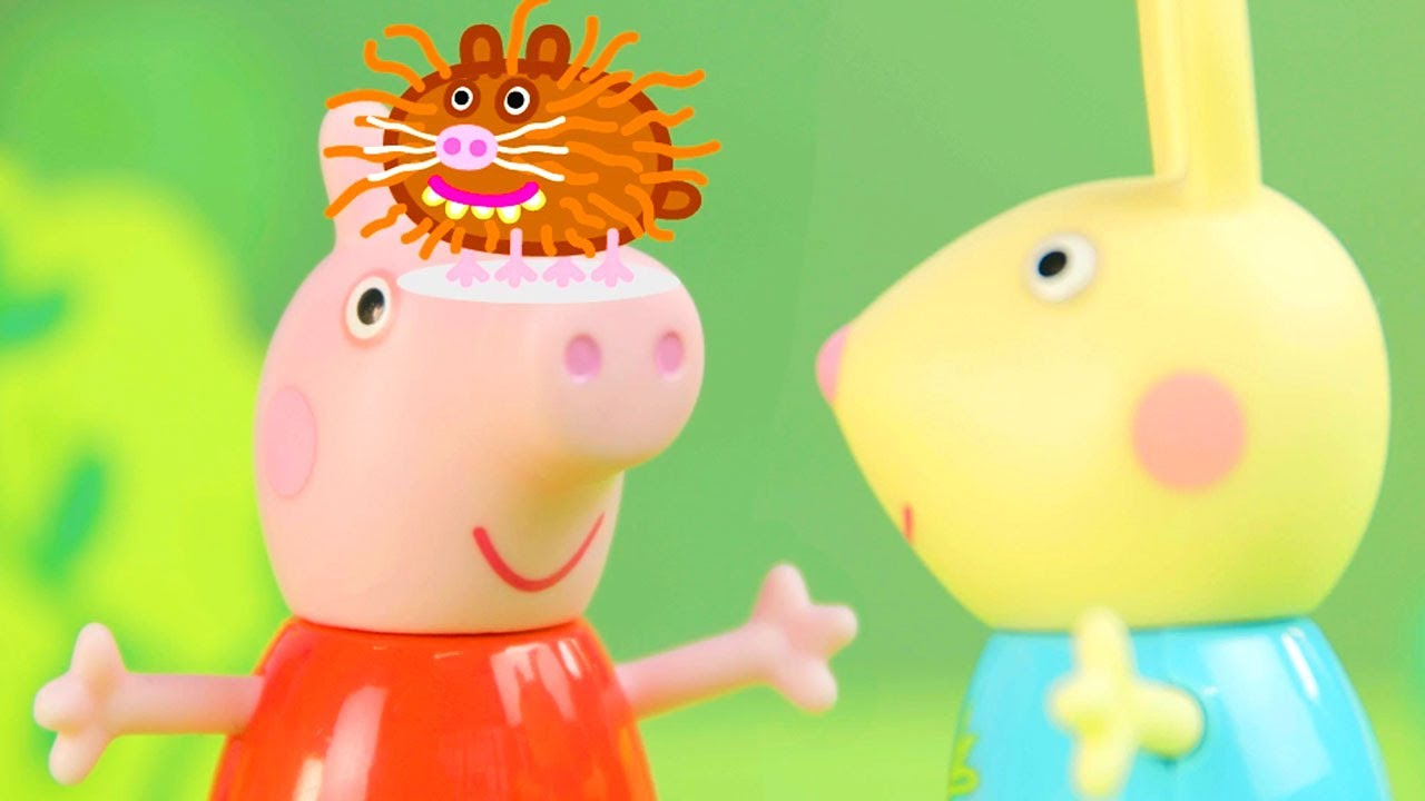 Peppa Pig Helps Out at the Farm | Peppa Pig Stop Motion | Peppa Pig Toy Play