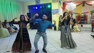 Bindrakhia tribute bhangra performance